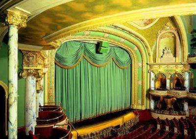 Fábrica de telones para teatros