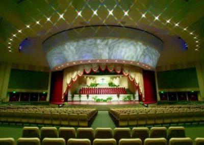 Telones para escenarios de salones de actos